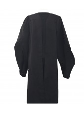 UK Economy Master Graduation Gown Only