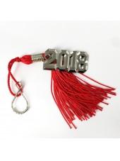Graduation Key Chain Tassel 2018 Charm-Red