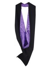 White UK Academic Bachelor Graduation Hood Cheap