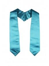 Plain Graduation Stole(youth)-Turquoise