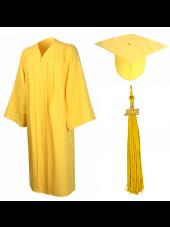 01_high_school_graduation_cap_gown_matte_gold