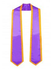 graduation honor stole purplegold-main