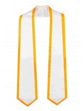 graduation honor stole whitegold-main