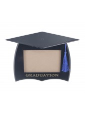 Wooden Graduation Photo Frame - Black