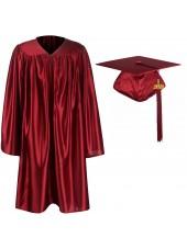 Kindergarten Graduation Caps Gowns Package--Maroon