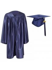Kindergarten Graduation Cap Gown Package--Navy Blue