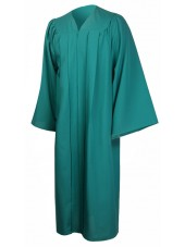 Premium Graduation Gown Only--Emerald Green