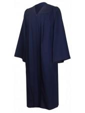 Premium Graduation Gown Only--Navy Blue