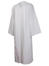 Premium Graduation Gown Only--White