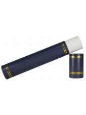 Graduation Certificate Scroll Holder-Navy Blue