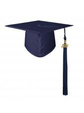 Navy Blue Adult Graduation Tassel Of Rayon