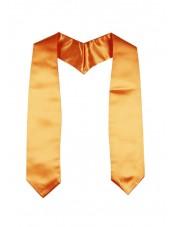 Plain Graduation Stole(youth)-Orange