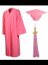 01_high_school_graduation_cap_gown_matte_pink