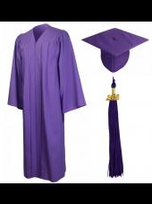 01_high_school_graduation_cap_gown_matte_purple