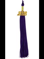 Single Color Graduation Tassel -Purple