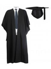 UK Bachelor Graduation Gown + UK Cap