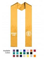 plain end graduation stole