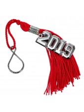 Graduation Key Chain Tassel 2019-red