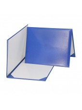 Smooth Diploma Certificate Cover Royal Blue
