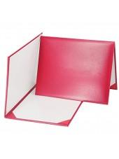 Smooth Diploma Certificate Cover Red