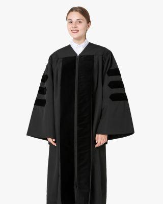 Classic Doctoral Graduation Gown Only