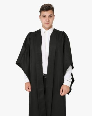 Classic Gathered Bachelor Academic  Graduation Gown