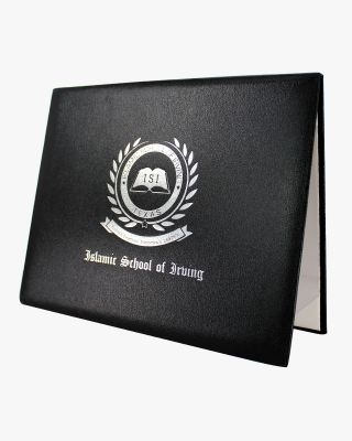 Custom Diploma Cover in Grained Leatherette