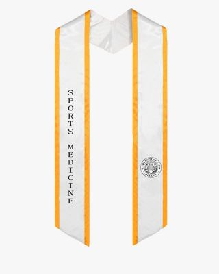 Custom Slanted Honor Stole with Trim