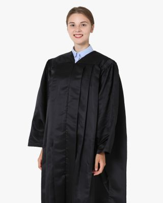 Deluxe Master Graduation Gown Only