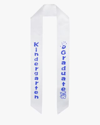 Kindergarten Graduation Sash - 5 Colors Available
