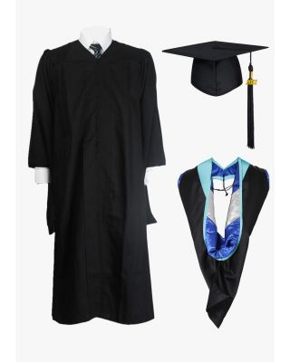 Economy Master Cap Gown & Hood Package