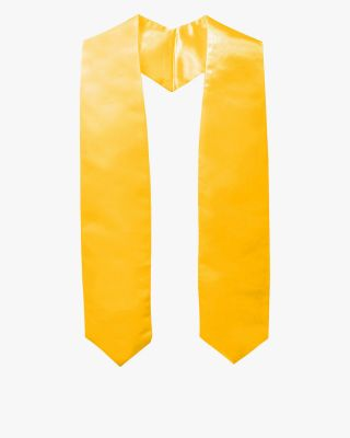 Plain Graduation Stole (Youth) - 15 Colors Available