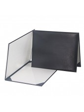 Smooth Diploma Certificate Cover Black