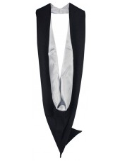 White UK Academic Bachelor Graduation Hood Cheap