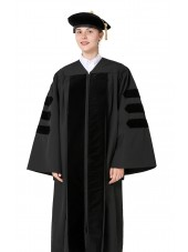 Classic Doctoral Graduation Gown Tam Package