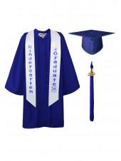 graduation cap gown sash