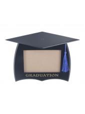 Wooden Graduation Photo Frame - Black
