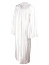 Economy High School Graduation Gown--White