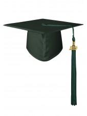 Forest High School Matte Adult Graduation Cap with Tassel