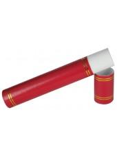 Red Graduation Certificate Scroll Holder