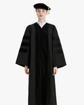 Economy Doctoral Graduation Gown Tam Package