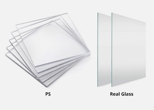 PS or Real Glass