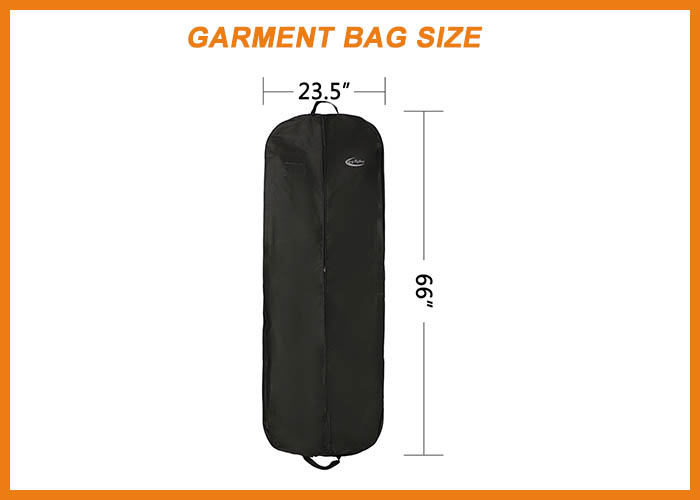 Garment Bag Size