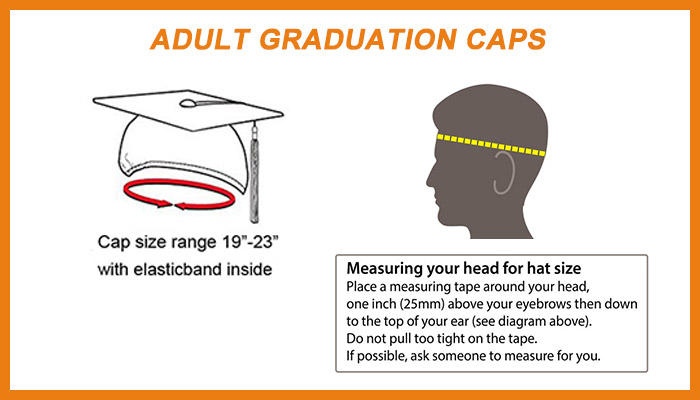 Adult  Graduation Cap